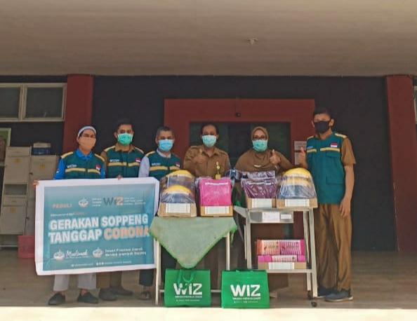 Wahdah Islamiyyah Soppeng Donasi Ketenaga Medis