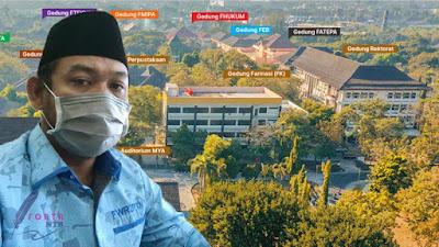 Wakil Rektor (WR) II Bidang Umum dan Keuangan Unram Prof. Dr. Kurniawan, S.H., M.Hum.