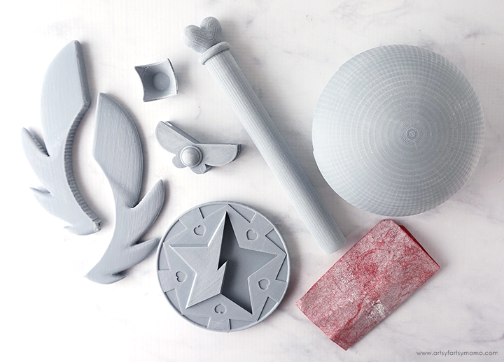 3D Printed PLA with Sand Paper