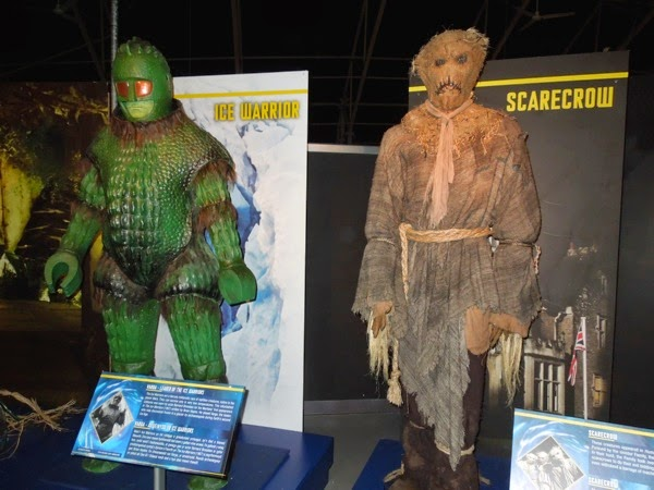 Doctor Who Ice Warrior Scarecrow costumes