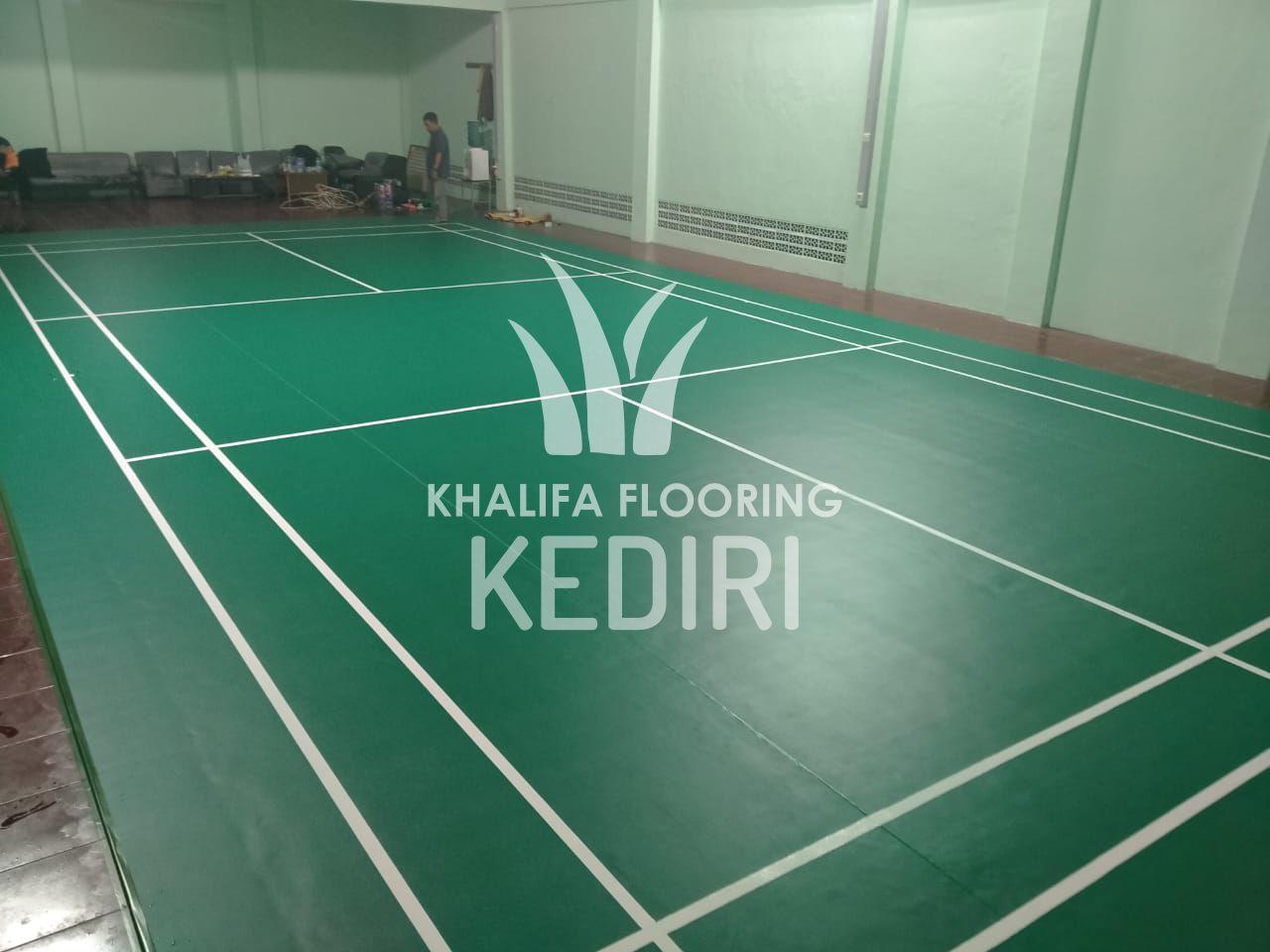 Karpet Lapangan Badminton Kediri