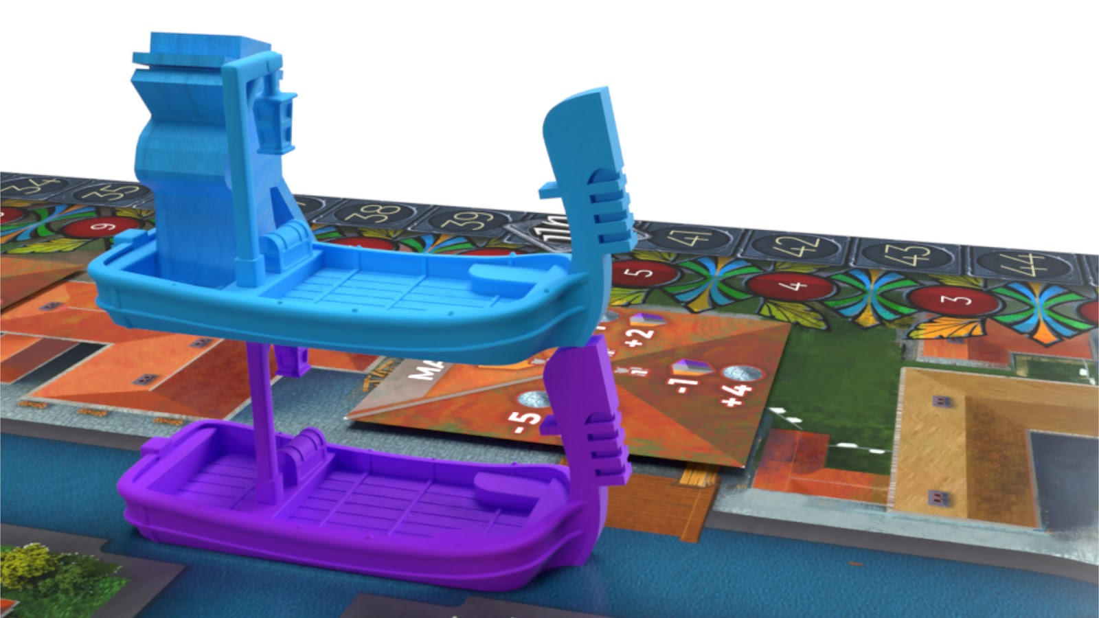 Kickstarter Highlight Venice Board Game Sharing A Space