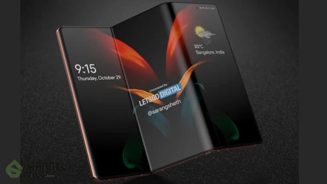 تسريبات تصميم هاتف Samsung Galaxy Z بتصميمه الجديد 2021