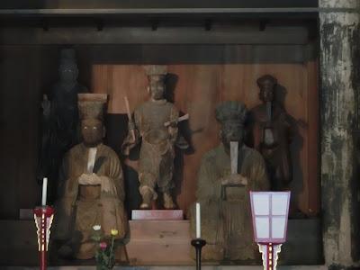 建長寺伽藍神像