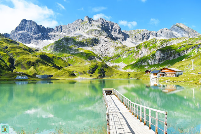 Lago Zürser See en Austria