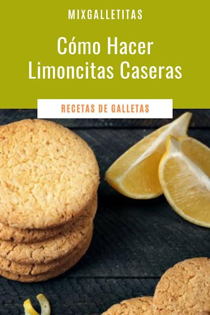 Cómo hacer galletas caseras de limón