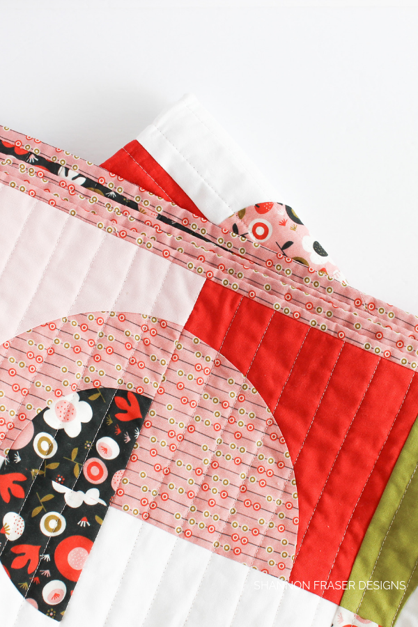 Ecliptic Quilt details | featured in Love Patchwork & Quilting Magazine Issue 71 | Shannon Fraser Designs