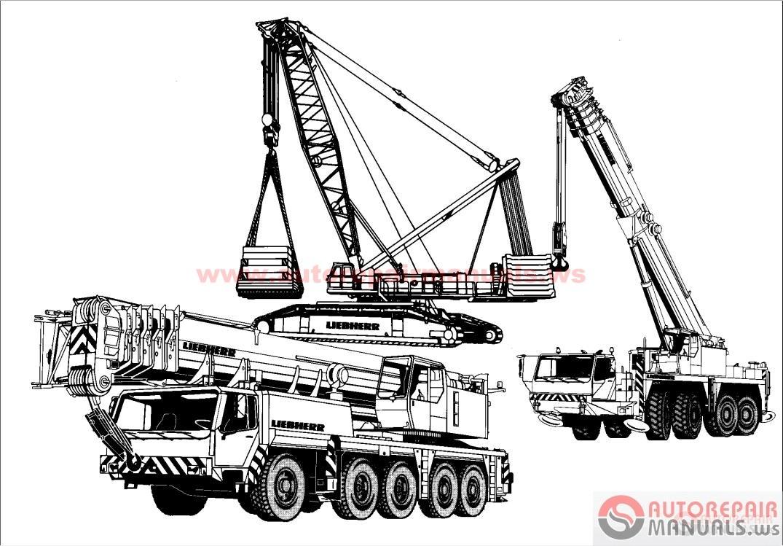 Liebherr Mobile Crane Spare Parts : Free auto repair manual liebherr crane service