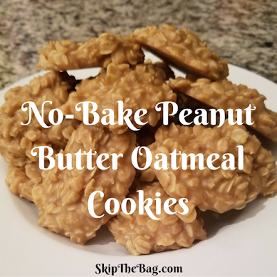 Easy and delicious peanut butter cookies.