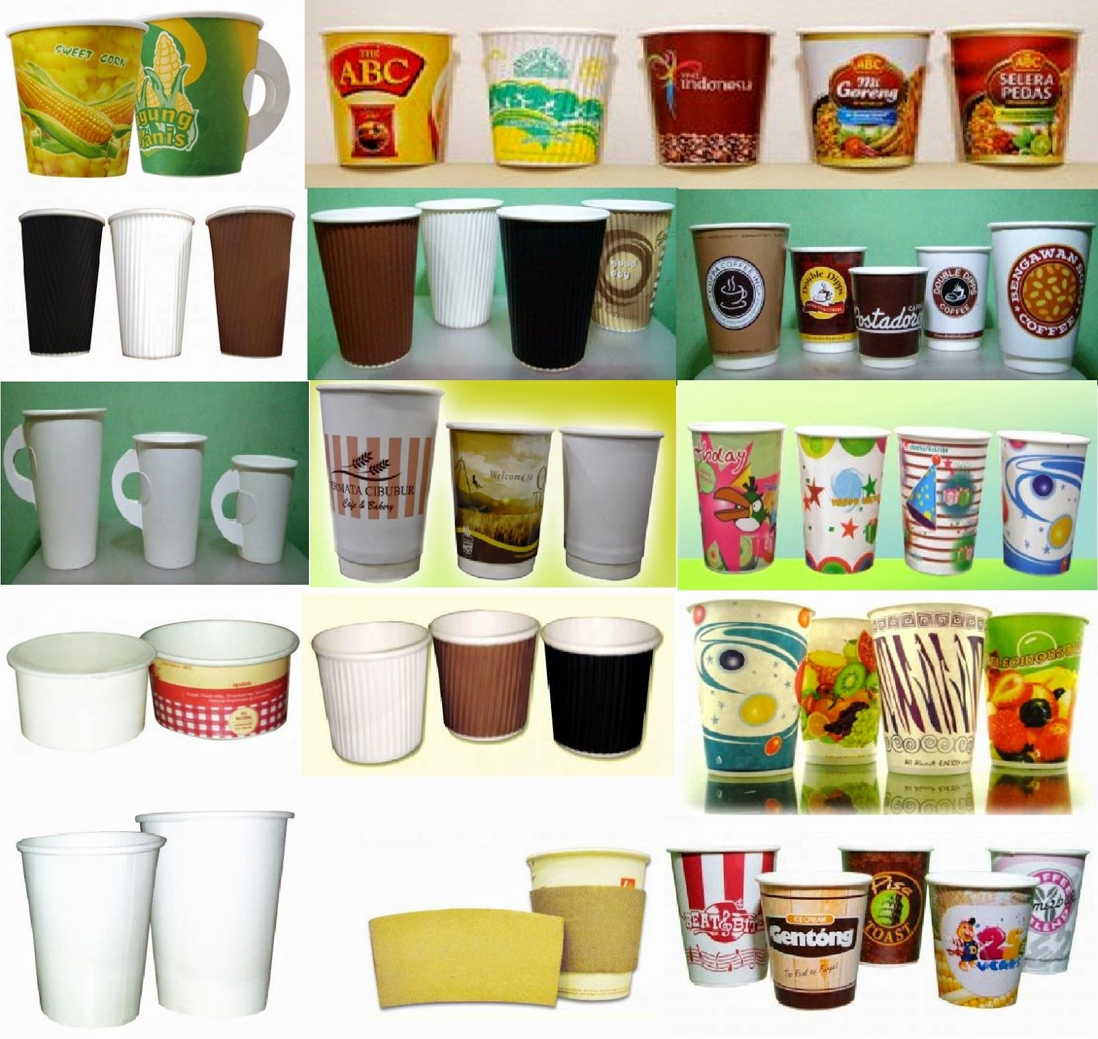 Distributor Agen Jual Paper Cup Gelas Kertas Untuk Ice