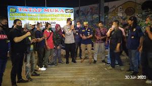 Kapolsek Metro Penjaringan Tatap Muka Dengan Keluarga Besar Garda Bintang Timur Kalijodo