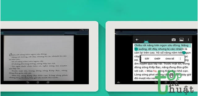 Thủ thuật chuyển ảnh thành văn bản trên điện thoại Android