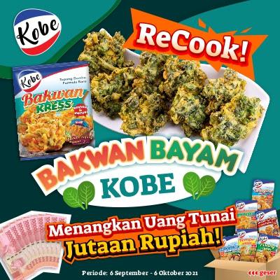 Challenge Recook Bakwan Bayam Kobe