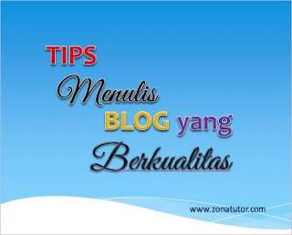 Cara Membuat Artikel Blog Berkualitas