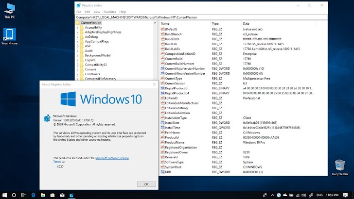 Microsoft Rilis Windows 10 Insider Preview Build 17760 ke Fast Ring