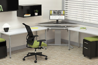 Mayline Sit To Stand Workstation from OfficeFurnitureDeals.com