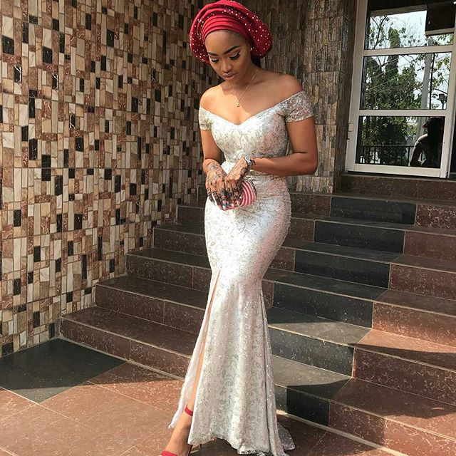 Gorgeous Aso Ebi Gowns for Beautiful Ladies; Wedding Guests Latest ...