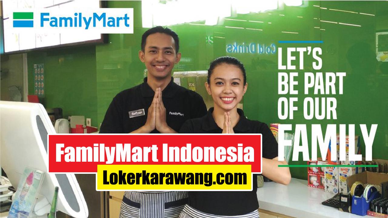 Lowongan Kerja FamilyMart Indonesia Karawang 2020