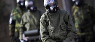 Συρία: 40 τόνους χημικών όπλων ανακάλυψαν οι Ρώσοι στις αποθήκες των ισλαμιστών