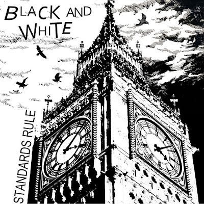"BLACK AND WHITE『STANDARDS RULE/BORING JOB(7"")』"