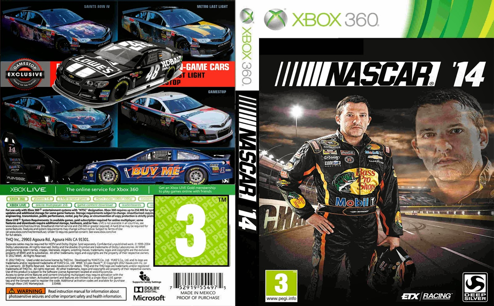 Nascar Games For Xbox 1 : Nascar gamestop pack circuit diagram maker
