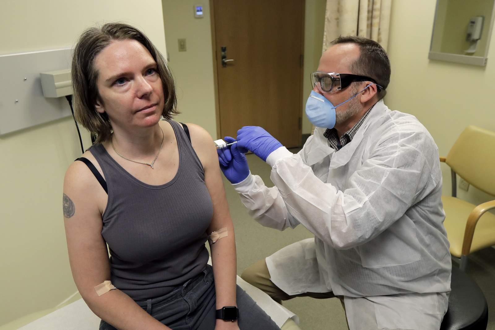 Coronavirus Vaccine Trial Administers To Participant