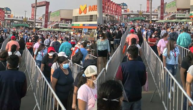 Centros comerciales son nuevos focos de contagio por COVID-19 en Perú