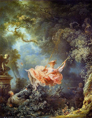 The Happy Accidents of the Swing by Jean-Honoré Fragonard, 1767