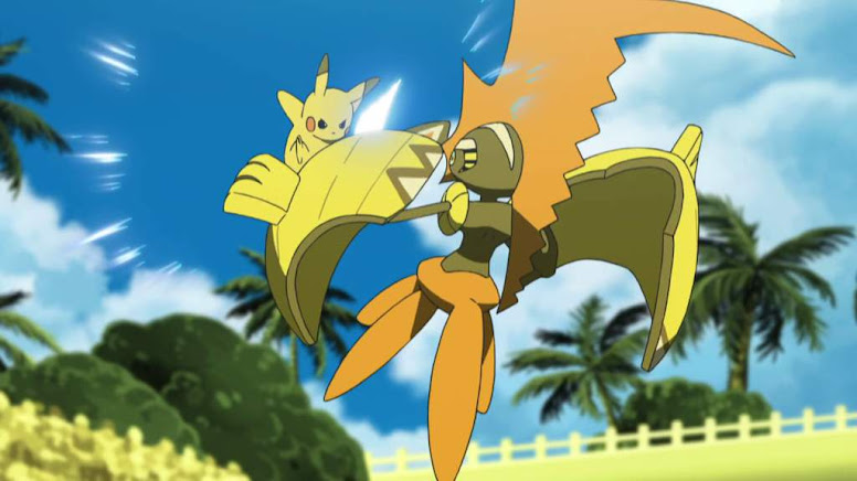 Batalha Pikachu e Tapu Koko Liga Pokémon