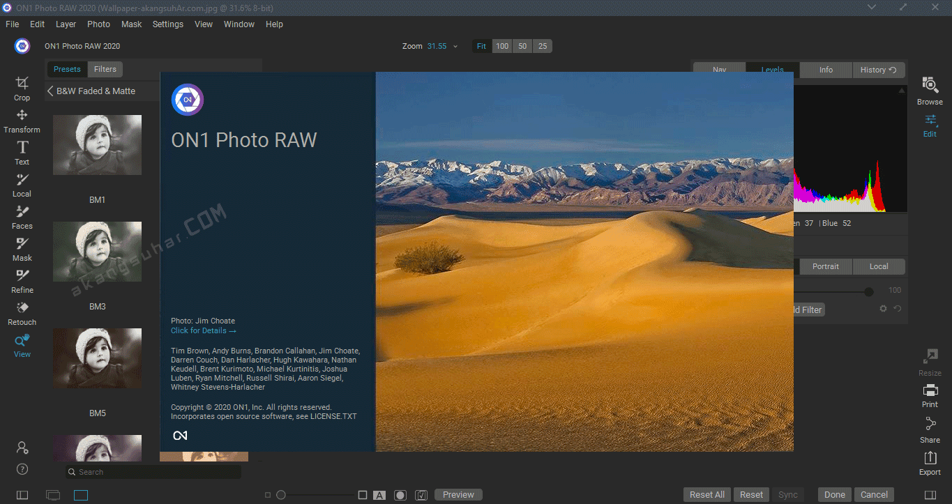 Free Download ON1 Photo RAW 2020 Final Full Version