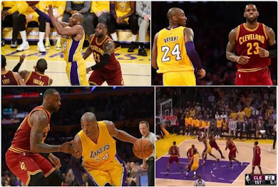 Kobe Bryant and Lebron James news
