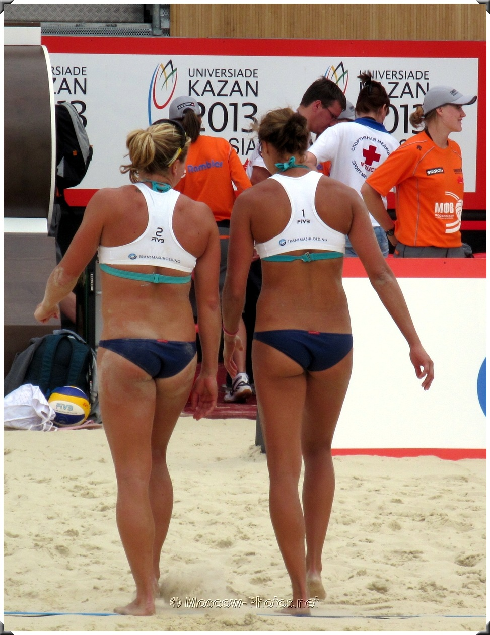 BEACH VOLLEYBALL GAME INTERRUPTION