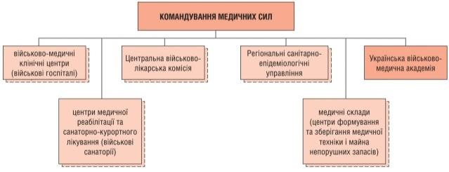 структура Командування Медичних сил на кінець 2020 року