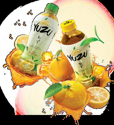 Minuman Teh Alami Dari Yuzu
