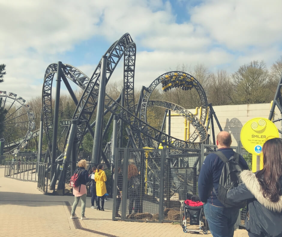 Day Trips To Take In The UK During Easter Holidays | The Smiler at Alton Towers, not one I'm likely to ride!