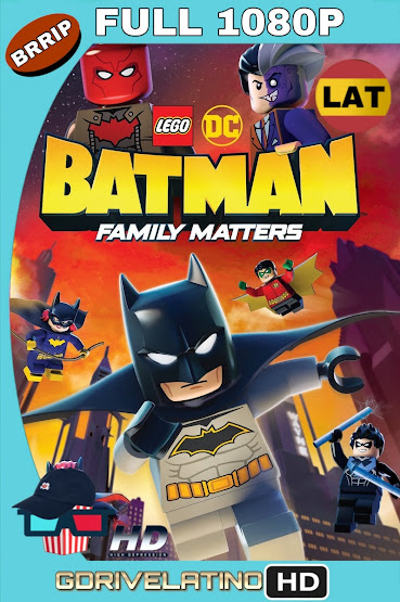 LEGO DC: Batman – Family Matters (2019) BRRip 1080p Latino-Ingles MKV