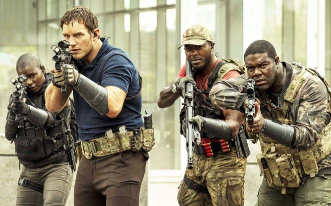 Chris Pratt en película de ciencia ficción