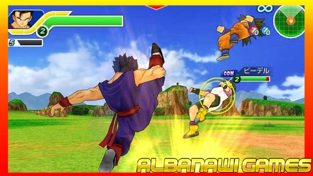 تحميل لعبة دراغنبول Tenkaichi Tag Team psp لأجهزة psp ومحاكي ppsspp من الميديا فاير
