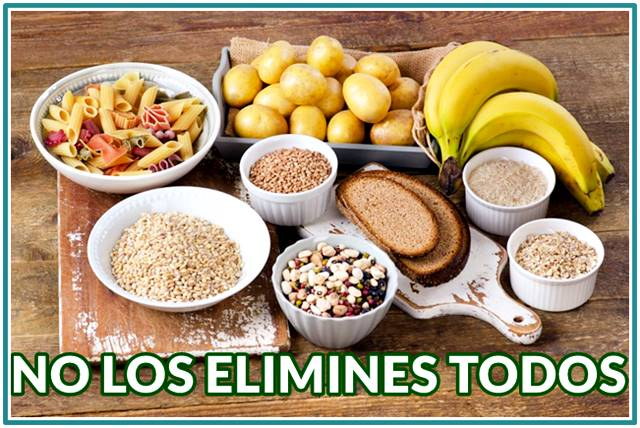 Conoce cuáles carbohidratos debes dejar de comer para perder peso de forma saludable