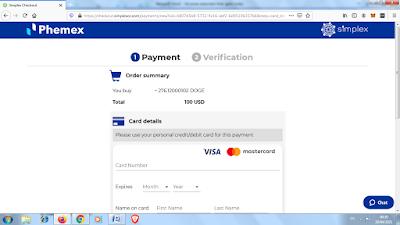 payment phemex