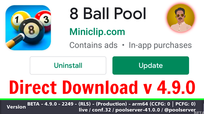 8 Ball New Latest Beta Version 4.9.0 || Direct Download Now By SABIR FAREED