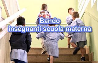 Bando pubblico per insegnanti scuola materna - adessolavoro.blogspot.com