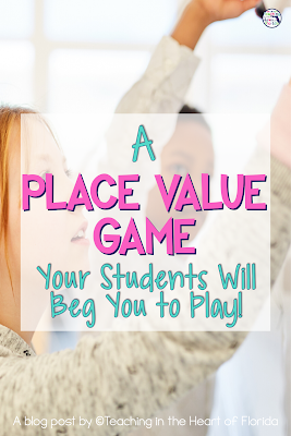 Place Value Game Pin