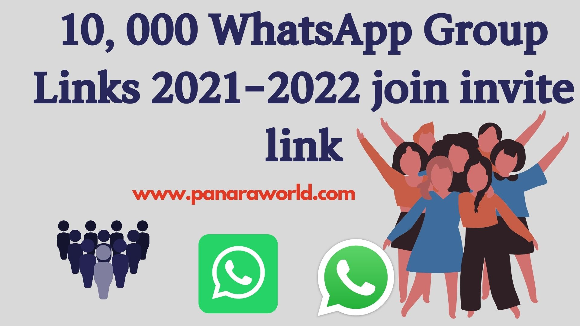 10, 000 WhatsApp Group Links 2021-22 join invite link