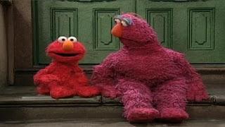 Elmo demonstrates Telly different ways of making music. Sesame Street Let's Make Music