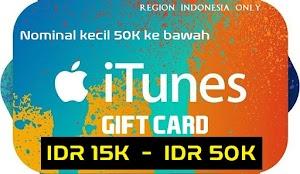 Dua Cara Redeem iTunes Gift Cards Code