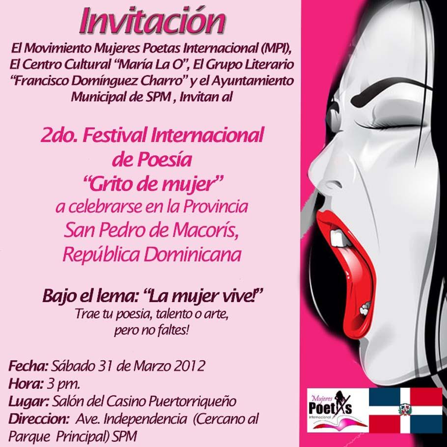 Revista El Cañero Grito De Mujer Republica Dominicana La Mujer