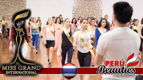 Comenzó los ensayos para la final de Miss Grand International 2015