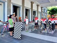 Balaikota Semarang Terima 15 Atlet Gowes Touring Pesona Nusantara