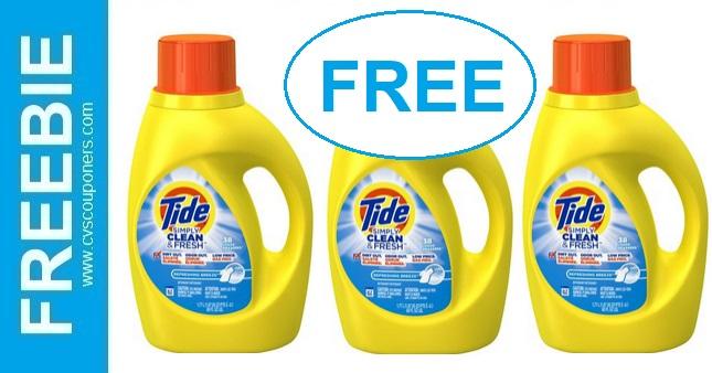 FREE Tide Simply CVS Deals